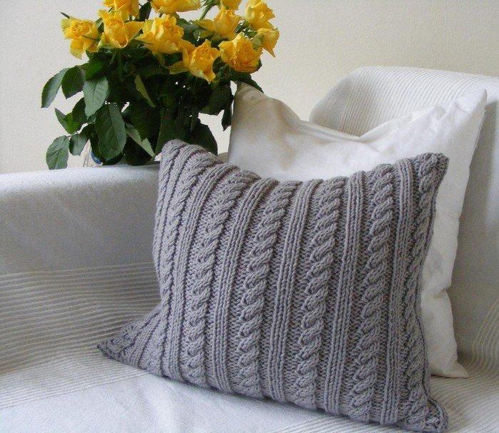 Связать наволочку на подушки своими руками