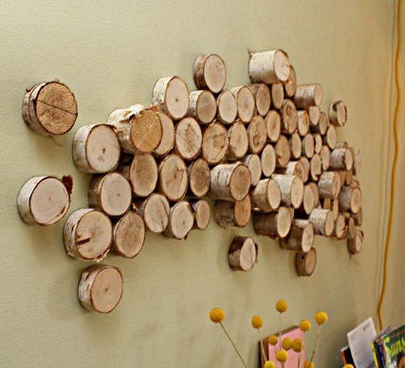 Деревянные декор своими руками