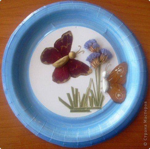 Поделки из тарелок и своими руками