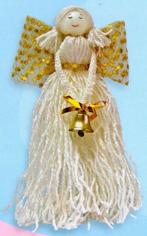 Ангел из ниток своими руками мастер класс 81
