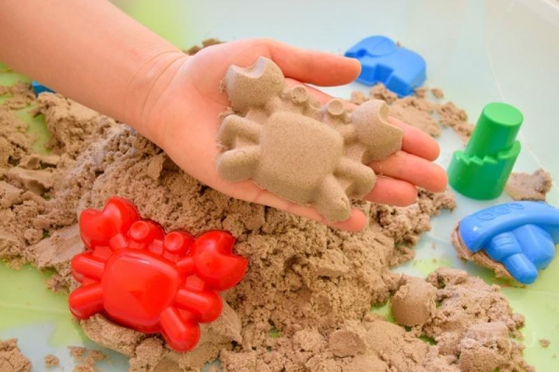Кинетический песок что своими руками 47