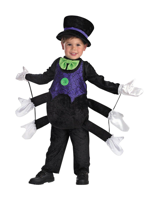 Костюм паук для мальчика своими руками фото