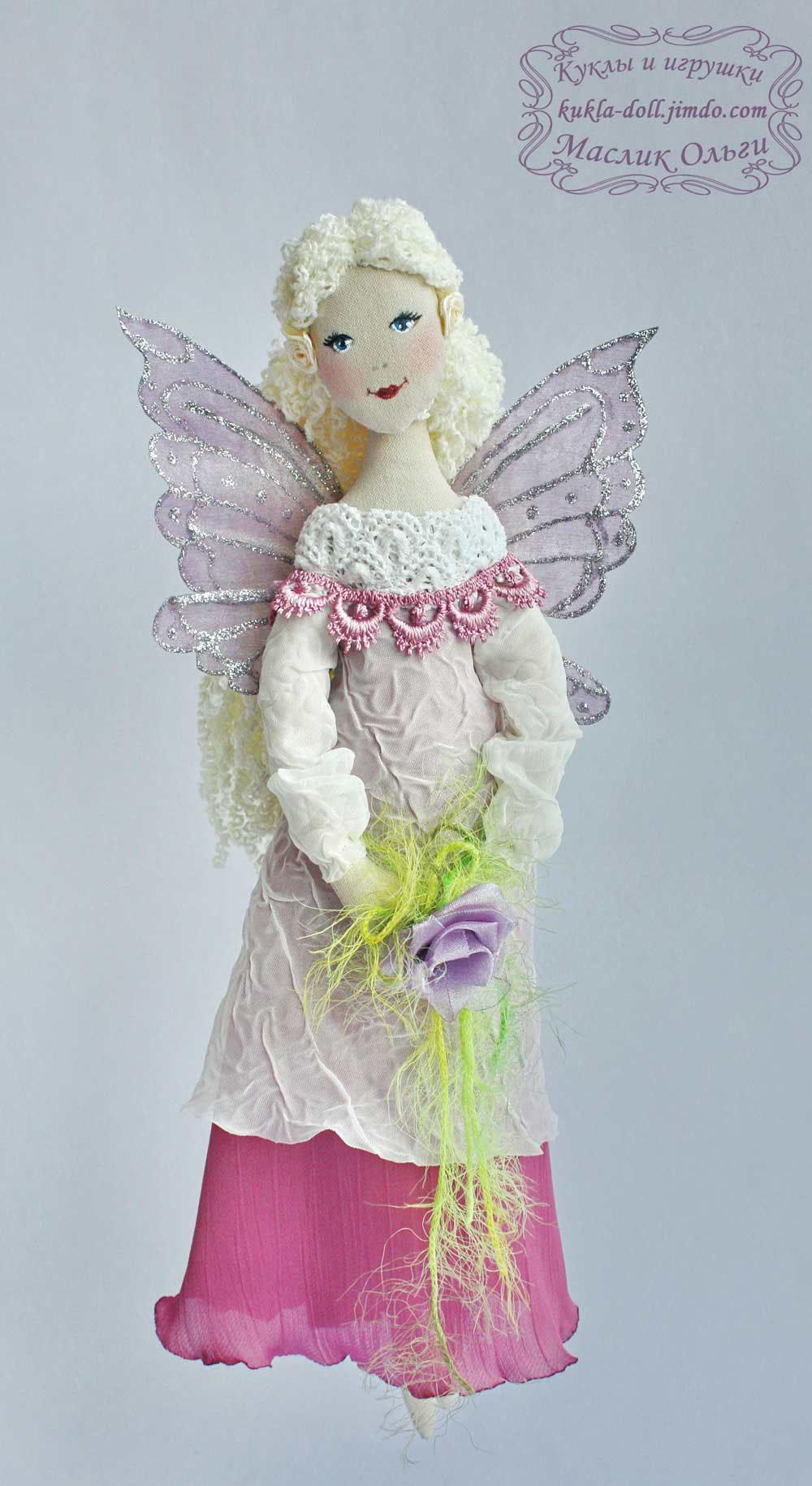 Как сделать куклу-фею из ниток своими руками (пошагово) 33 2