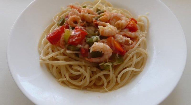 Паста с морепродуктами рецепт пошагово