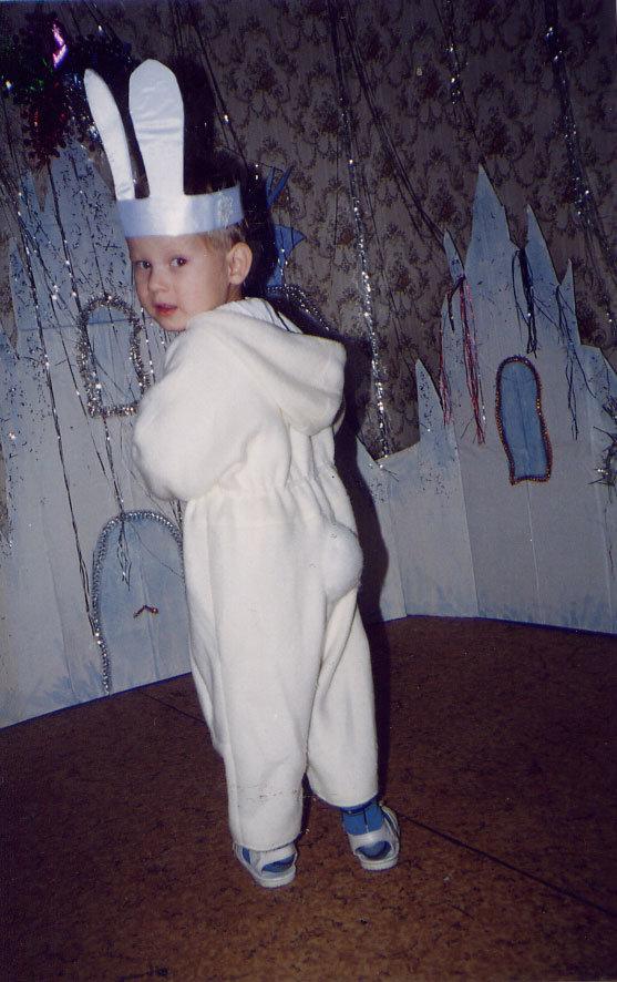 Сделать костюм зайчика для мальчика своими руками