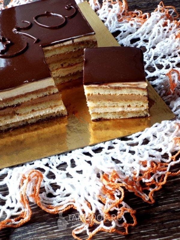 Торт опера рецепт с пошагово в домашних условиях