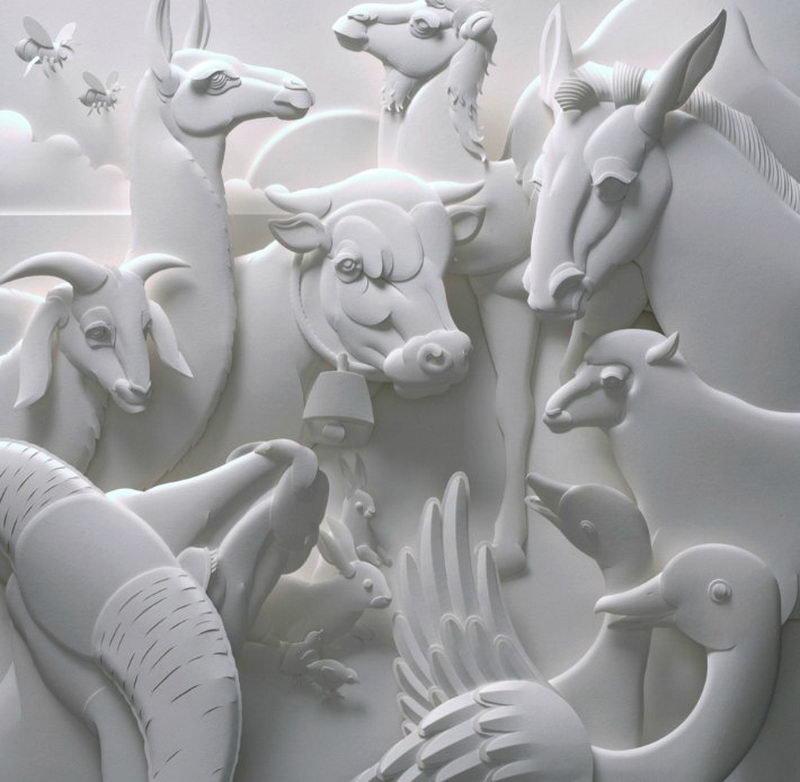 Как сделать изграфии объемную 3d скульптуру