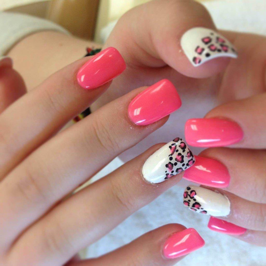 Фото ногтей квадратных ногтях