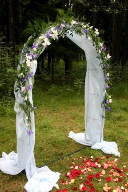 Фото свадебная арок своими руками