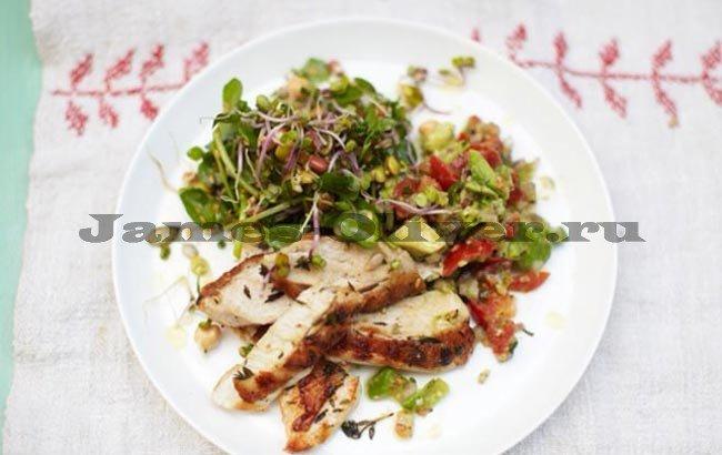 Рецепты джейми оливера с курицей