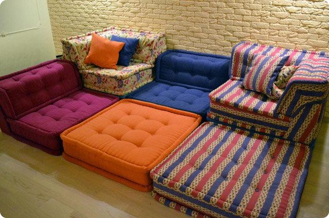 Чехол на сидушку дивана своими руками 97
