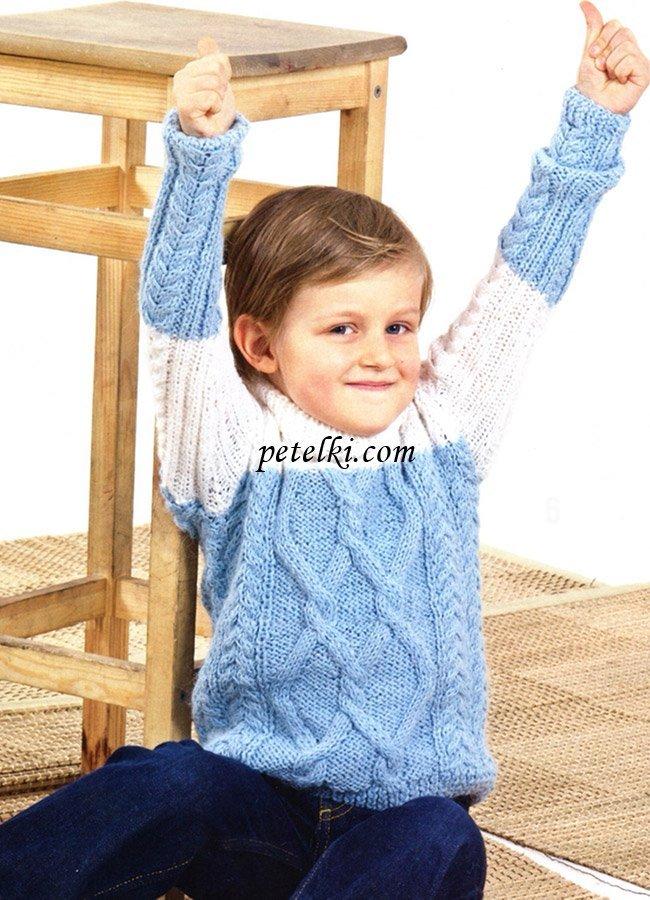 Вязание детям 5-6 мальчик