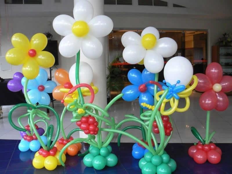Как делать поделки с воздушных шариков