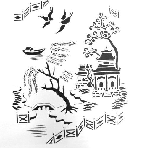 Рисунки для декора своими руками шаблоны