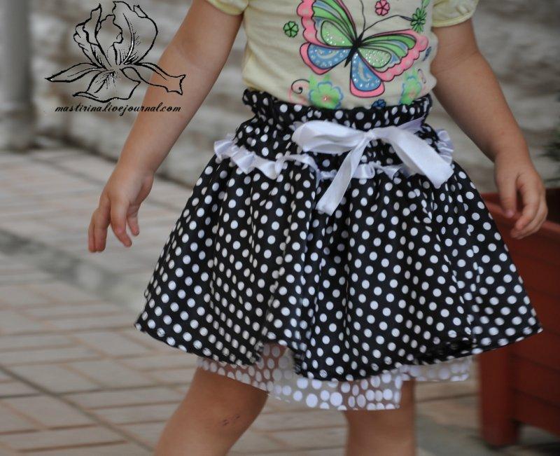 Сшить юбку для младенца 63