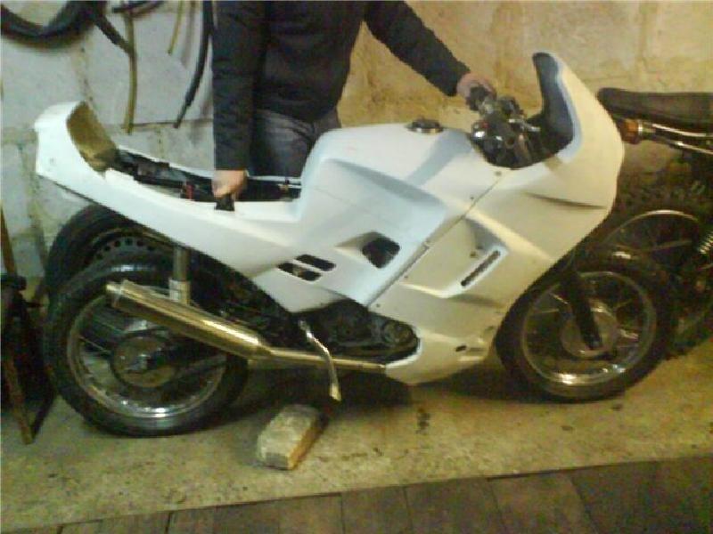 Как сделать обвес своими на мотоцикл 480