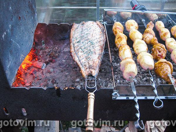 Рецепты горбуши на мангале