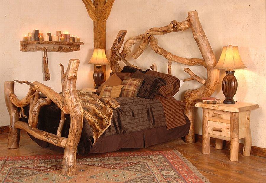 Оригинальная мебель из дерева своими руками фото 60