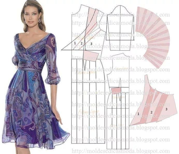 Сшить красивое платье на новый год самой