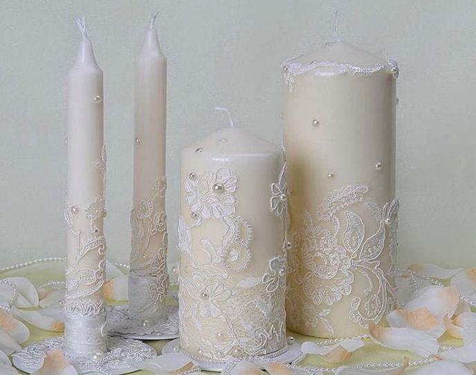 Как сделать чтобы свечи стояли