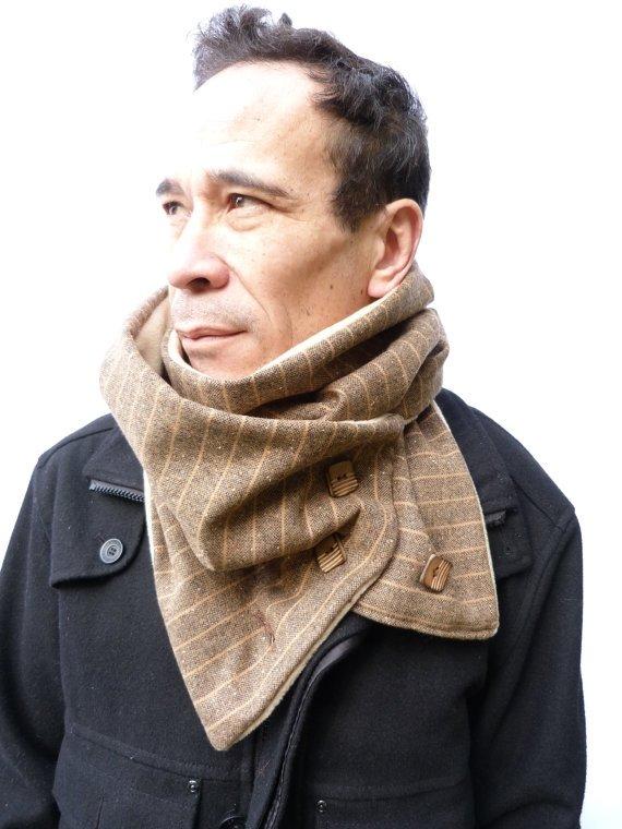 Мужской шарф сшить своими руками