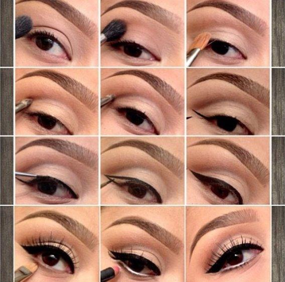 Как сделать красивый дневной макияж в домашних условиях пошаговое