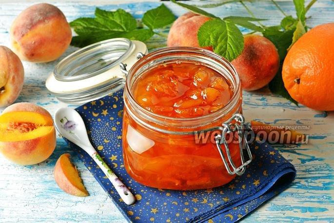 Персиковое варенье на зиму рецепт с фото