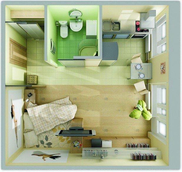 Дизайн интерьеры обычных квартир vii