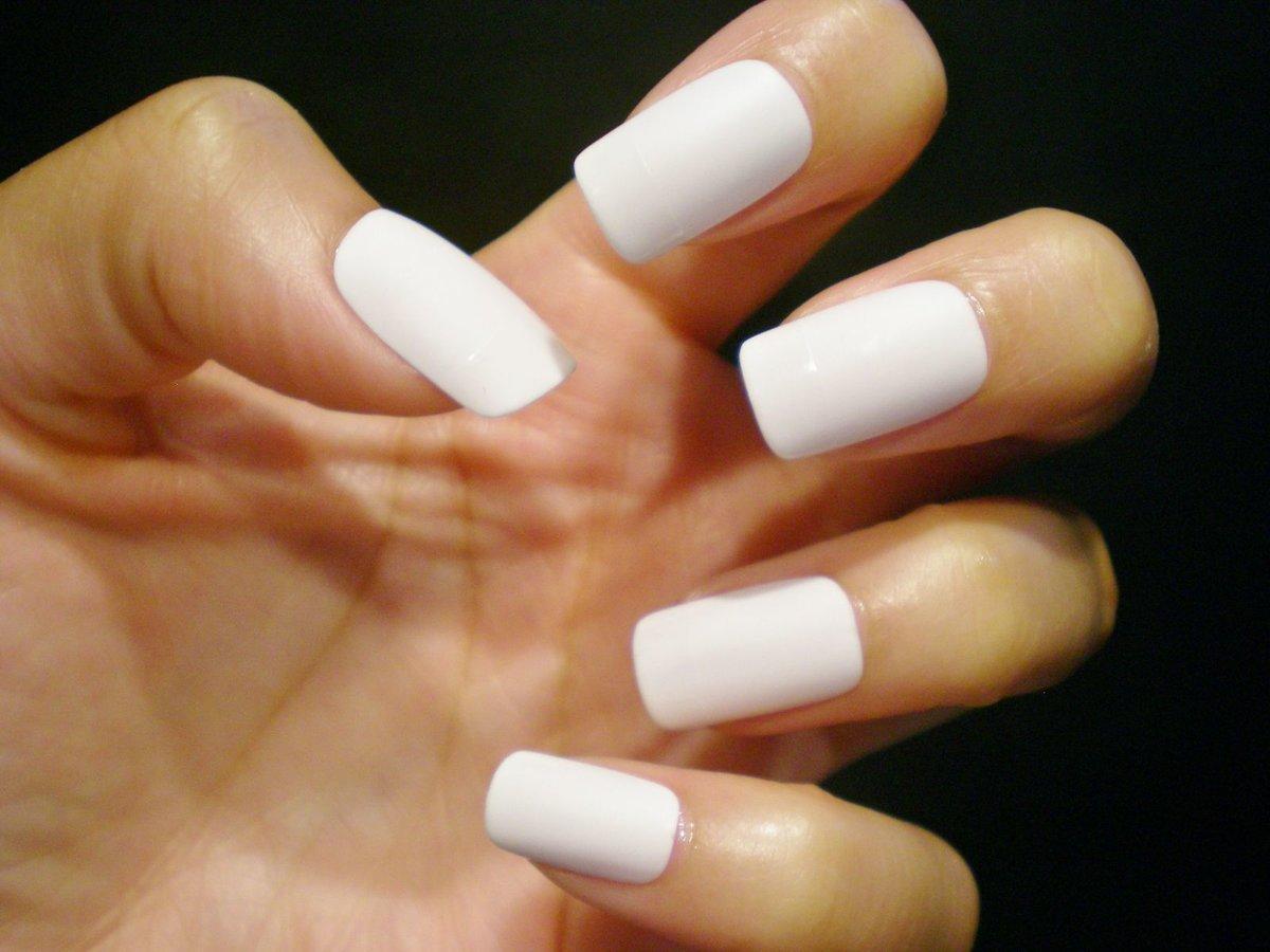 Белые ногти фото новые