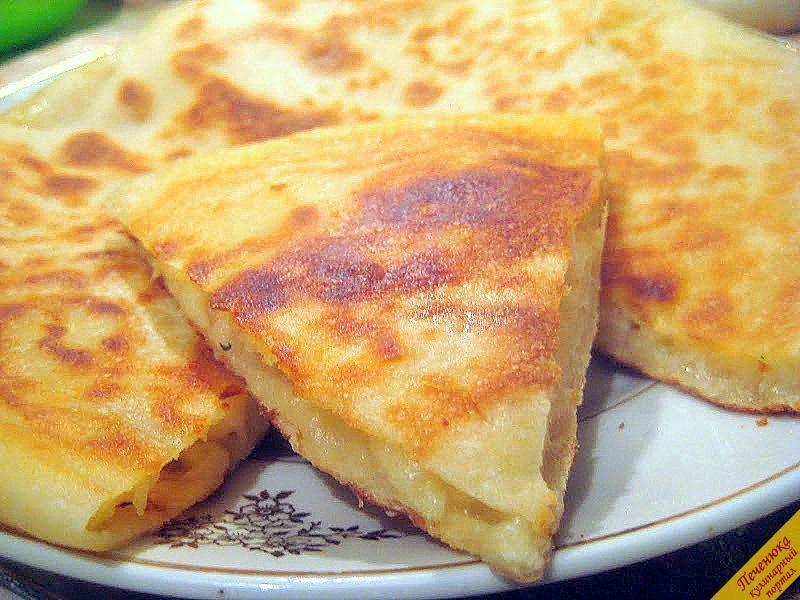 Осетинские пироги с сыром пошаговое