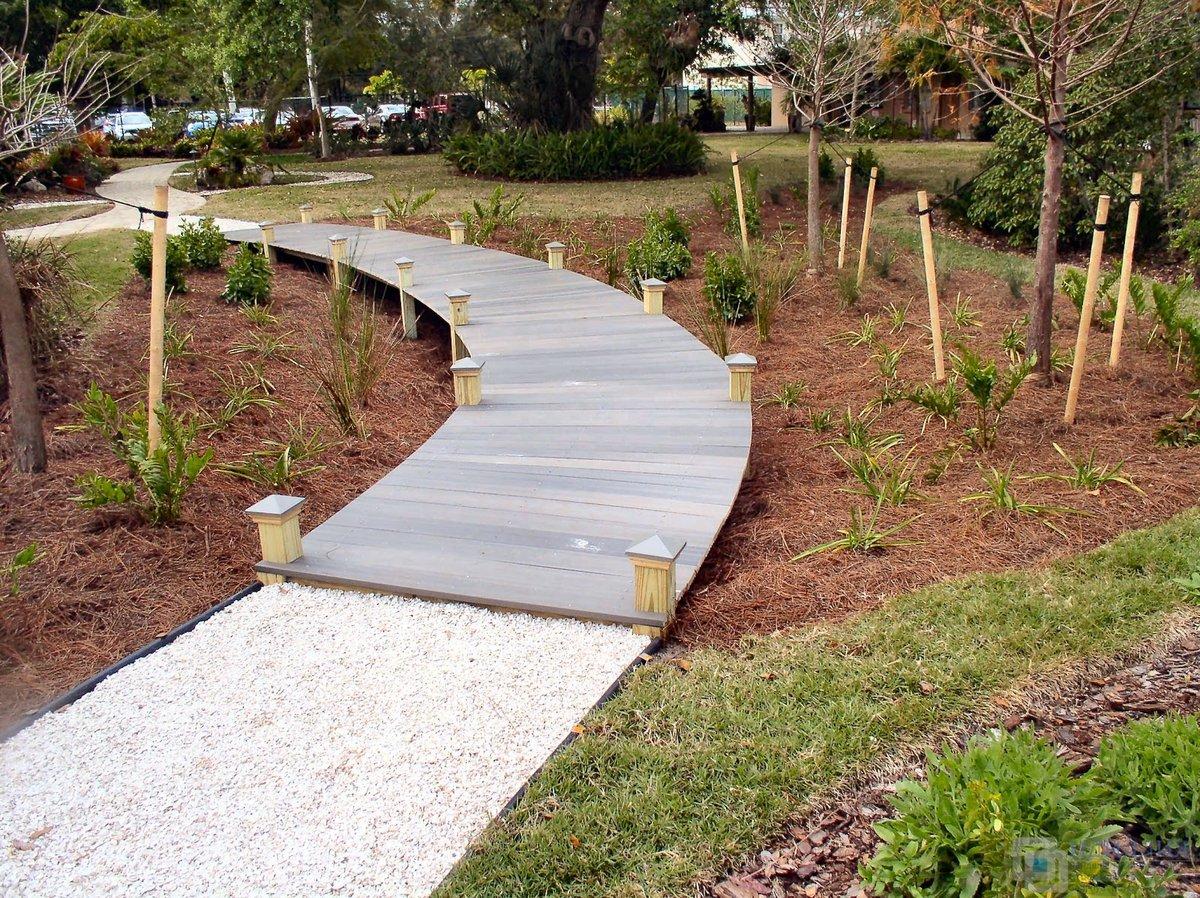 Садовые дорожки из бетона своими руками с малыми затратами фото 31