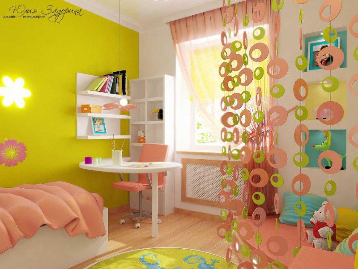 Детская комната ремонт своими руками