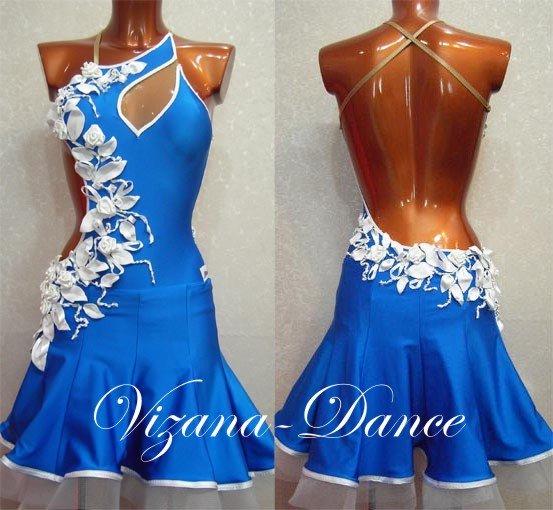 Платье для бальных спортивных танцев