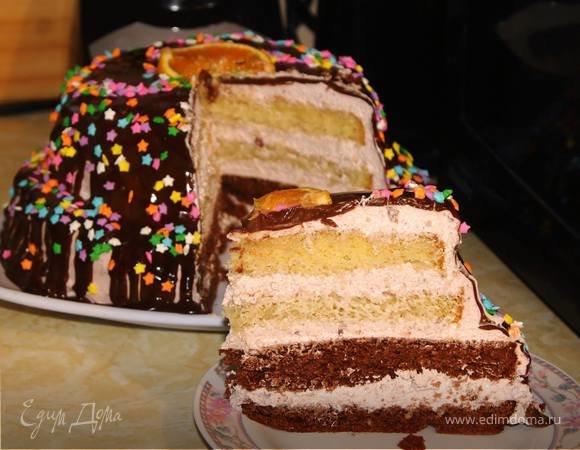 Рецепт торта пушинка