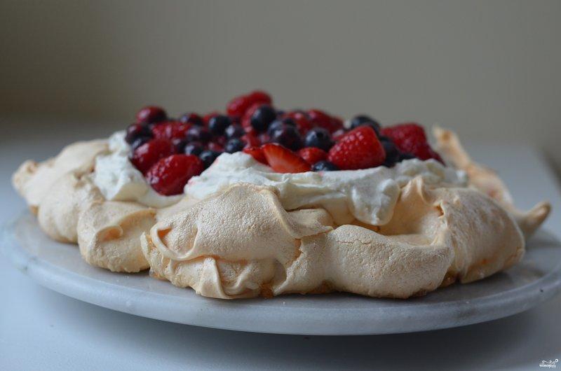 Воздушное пирожное рецепт с фото