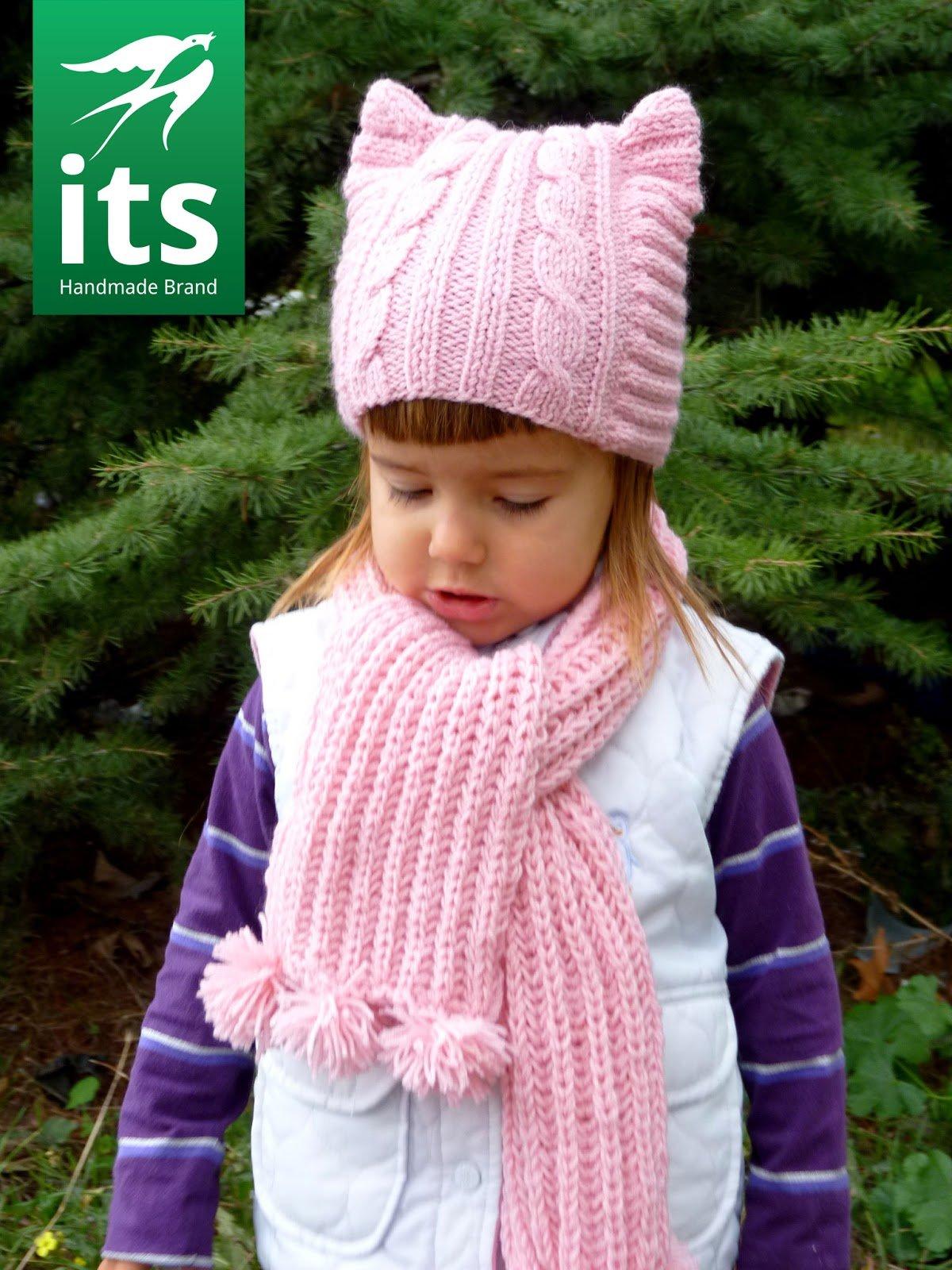 Клубок ру вязание спицами шапки для девочек