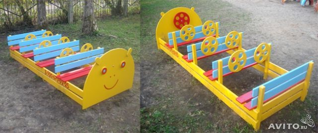 Детские площадки для детских садов своими руками