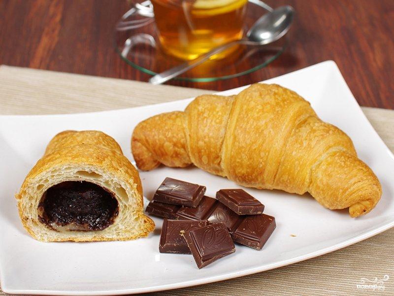 Домашние круассаны с шоколадом