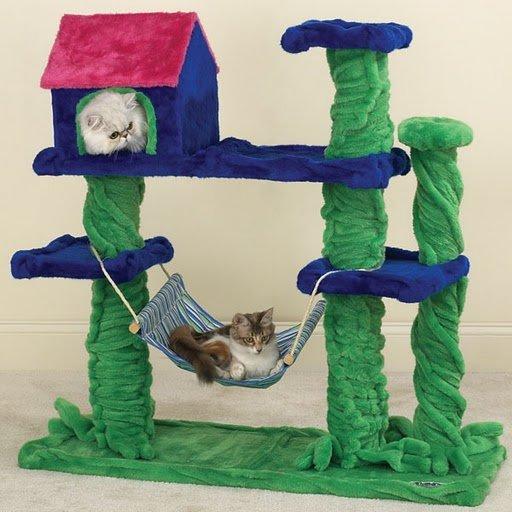 Домик для игрушечной кошки своими руками 4
