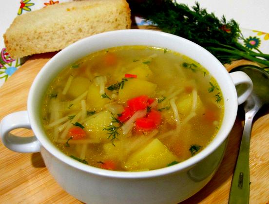 Суп с курицей рецепт для детей