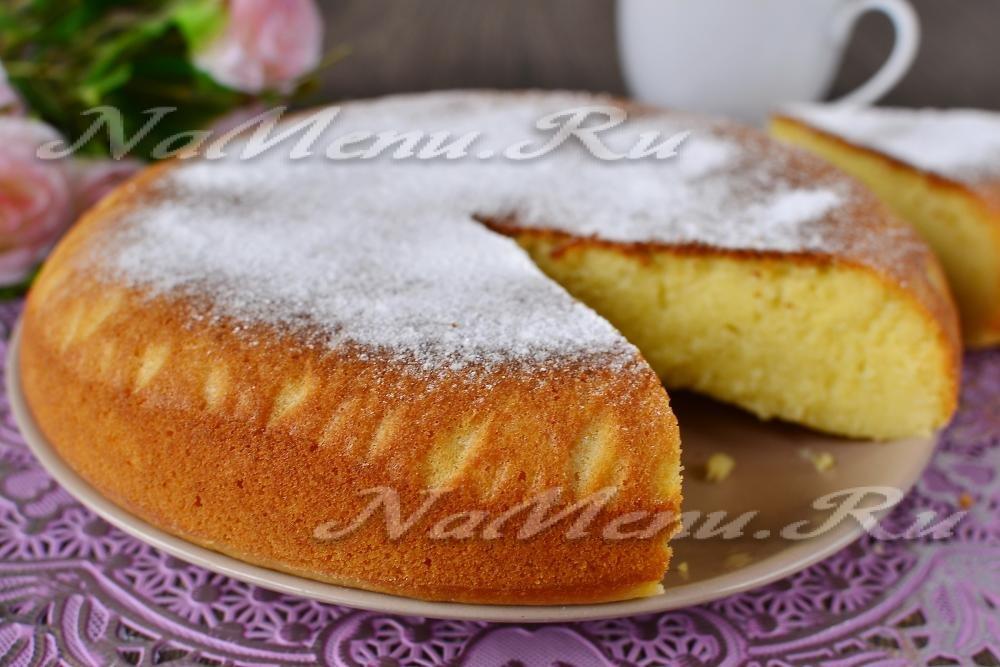 Вкусный пирог на кефире в мультиварке рецепты с фото