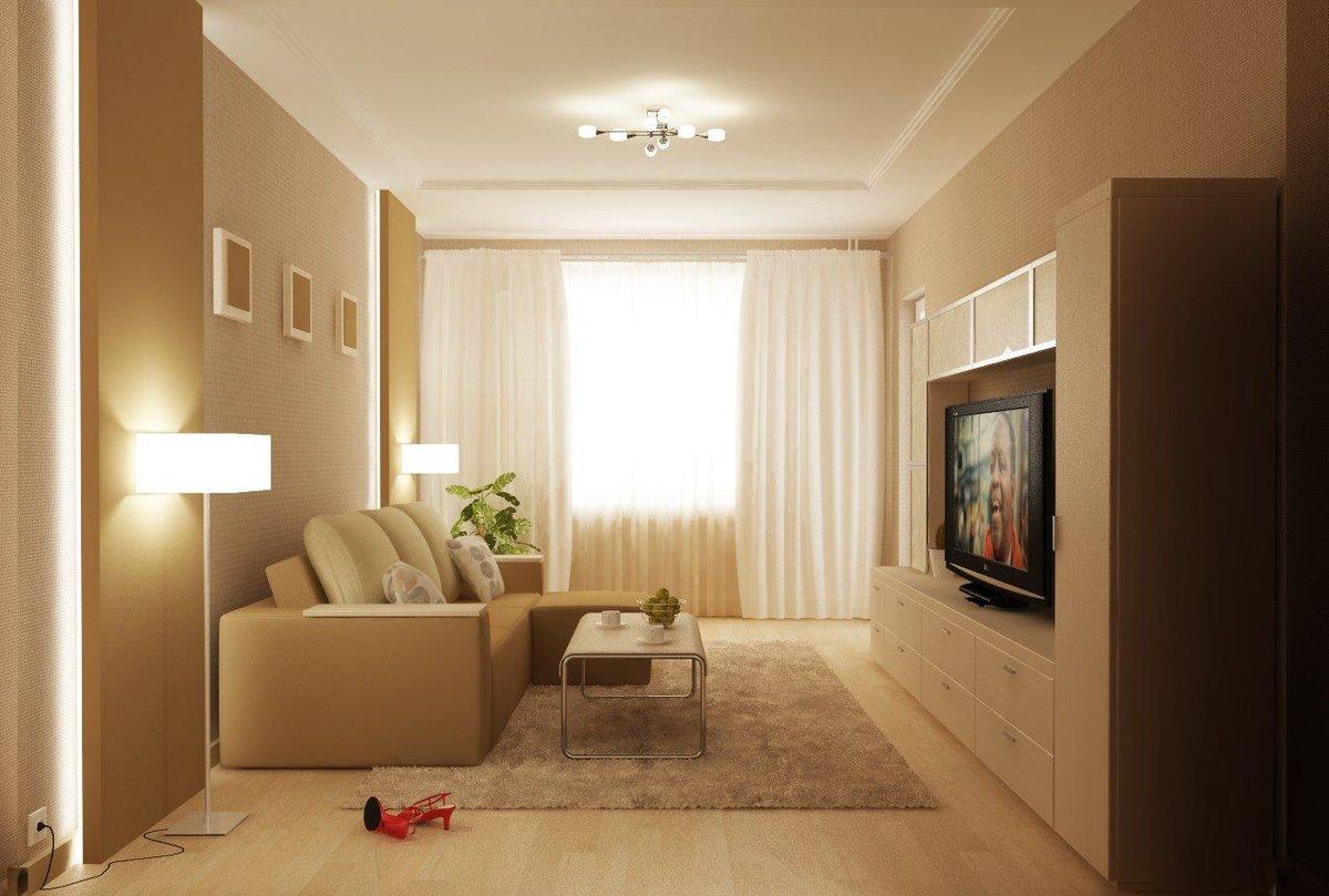 Интерьер гостиной площадью 18 кв м фото