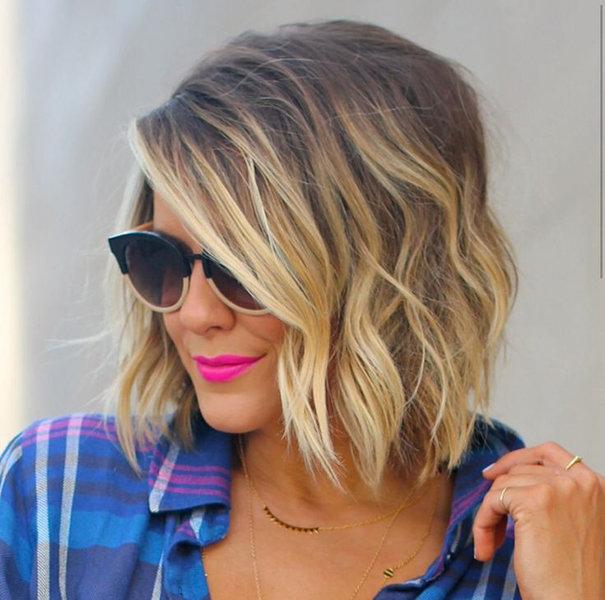 Модные стрижки и окрашивание на средние волосы 2016