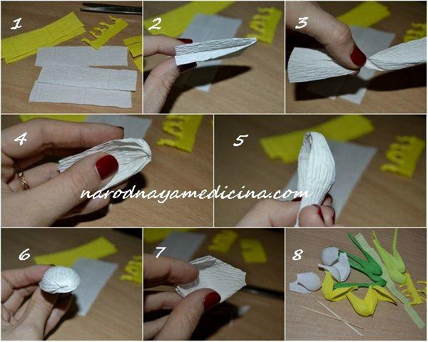 Поделки из бумаги из гофрированной бумаги своими руками