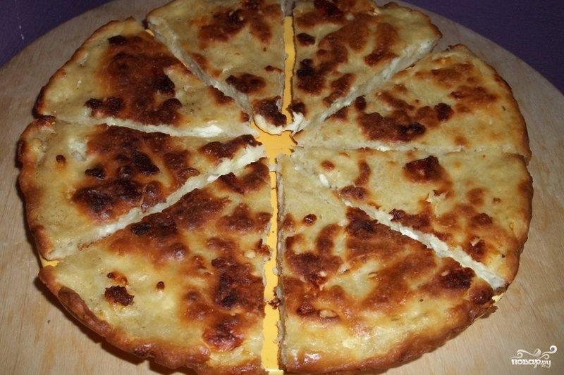 Рецепт хачапури на сковороде с пошаговым