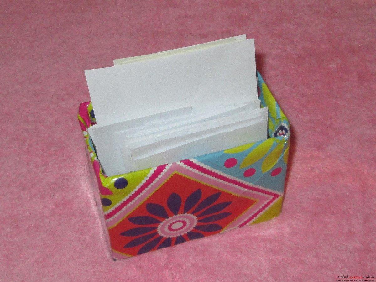 Сделать коробку шкатулку из картона своими руками