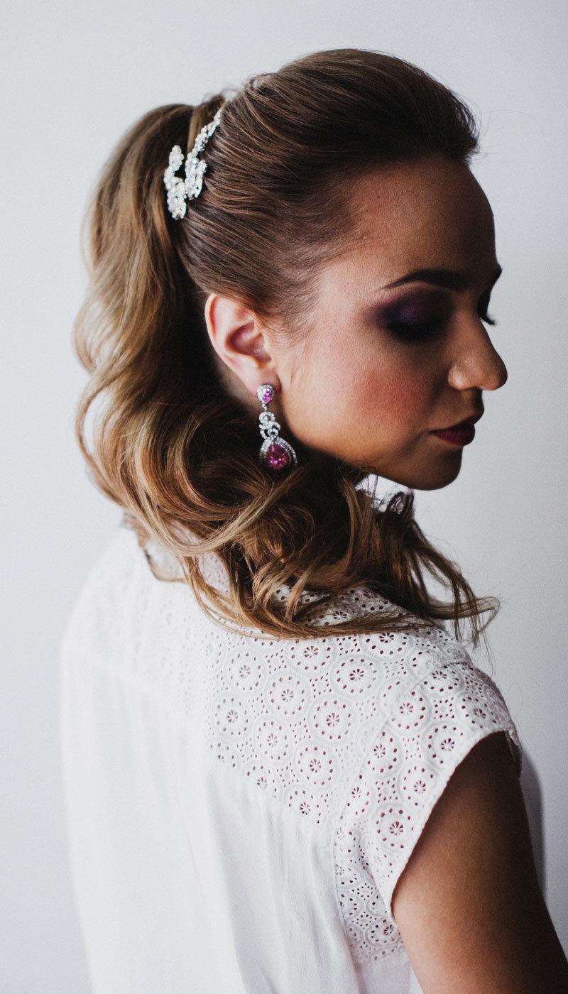 10 вариантов хвоста для 10 типов невест: прическа, с которой вы