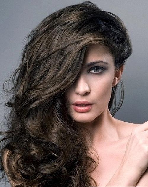 Как на тёмный волос сделать оттенок