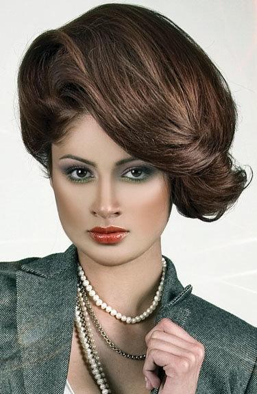 Прически 60 х годов на средние волосы