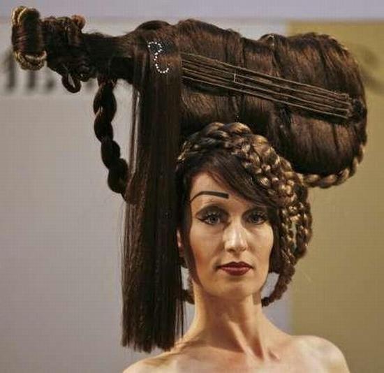 Причёска на день рождение